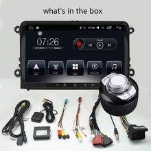 D-NOBLE 9 дюймов Android 7,1 DVD плеер автомобиля 2 ГБ/32 ГБ 1 Din Bluetooth Wi Fi Радио Стерео gps навигации для VW универсальный