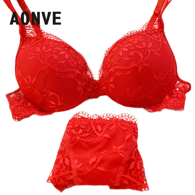 Underwear Women Bra Set Lace Bralette Sexy Bra Embroidery Thin Bras Suit Black Red Hollow Out Panties Bras Sets