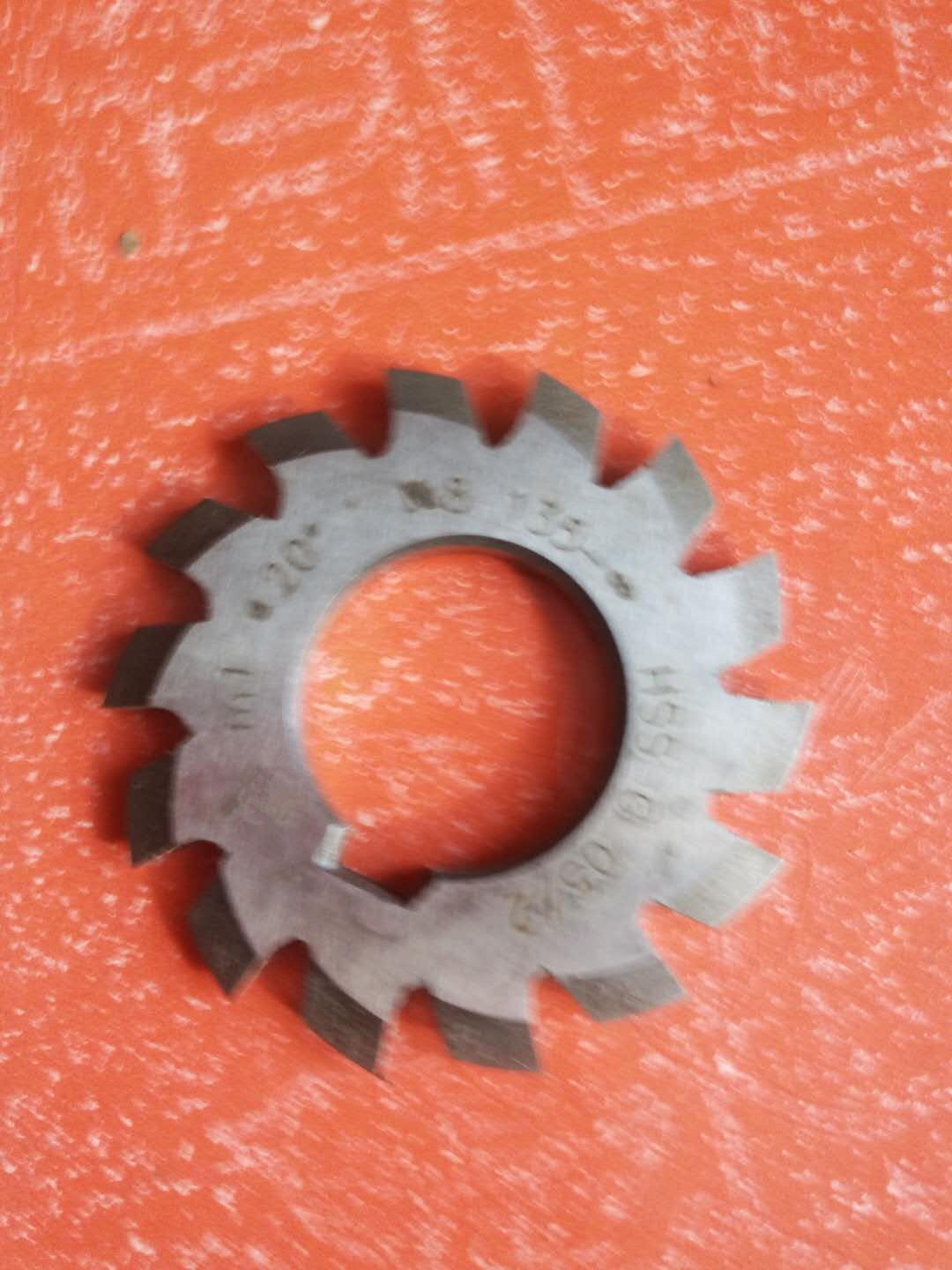 купить Set 8Pcs Module 1 PA20 Bore22 1#2#3#4#5#6#7#8# Involute Gear Cutters M1 онлайн