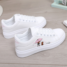 2019 new spring and autumn boys girls casual fashion primary school shoes breathable white