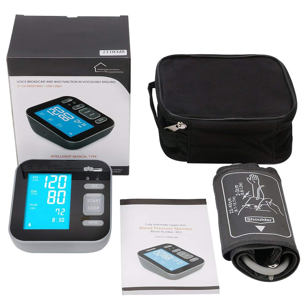 Package - Majota Cigbg Home Digital Upper Arm Blood Pressure Monitor