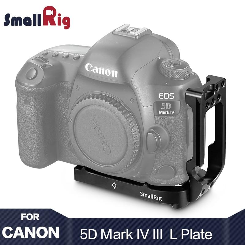 купить Smallrig 5D Mark 4 Camera L Plate L-Bracket for Canon 5D Mark IV / Mark III With Quick Release Arca Style Camera Plate 2202 по цене 3902.57 рублей