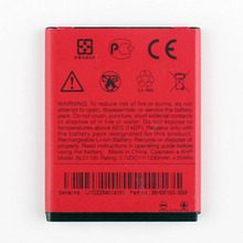 High Capacity Phone Battery For HTC A320 Desire C Golf BA-S850 BA-S910 a320e BL01100 1230mAh накладка для htc desire c a320e