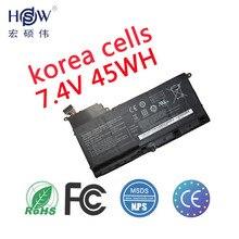 New genuine 7.4V 45Wh 6120mah AA-PBYN8AB tablet battery for Samsung NP530U4B-A01US 530U4C 535U4C BA43-00339A laptop batteria