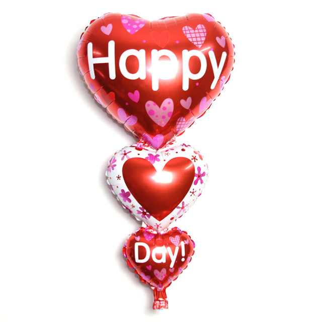 Bodas San Valentn decoracin grande te amoda feliz cartas Globos