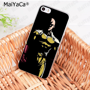 MaiYaCa One Punch Man  Diy Luxury High-end Protector phone Case for Apple iPhone 8 7 6 6S Plus X 5 5S SE 5C XS XR XSMAX 1