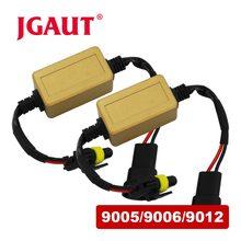 jgaut 9005 9006 9012 canbus wiring harness adapter decoder for jeep cherokee  car headlight bulb auto headlamp fog light