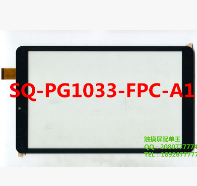 New For SQ-PG1033-FPC-A1 Tablet Capacitive Touch Screen 10.1 inch PC Touch Panel Digitizer Glass MID Sensor Free Shipping white new 10 1 inch tablet capacitive touch screen fpc tp101030 01 touch panel digitizer glass sensor replacement free shipping