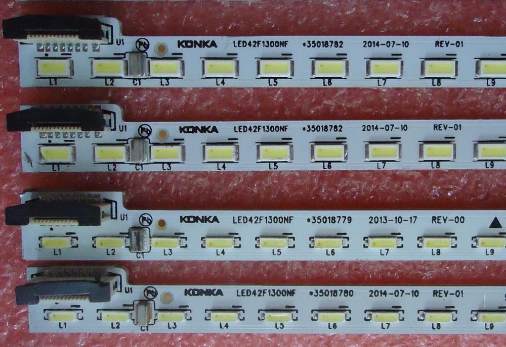 0-Для konka LED42K11A LED42F1300NF Article lamp 35018782 37024256 35018780 1 шт. = 72LED 535 мм смотреть на Алиэкспресс Иркутск в рублях