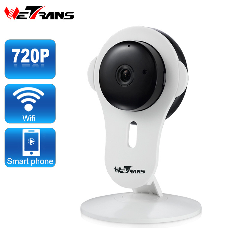 Wetrans IP Cam Security-Camera Wifi Micro-Audio Surviewllance Night-Vision 720P HD Home