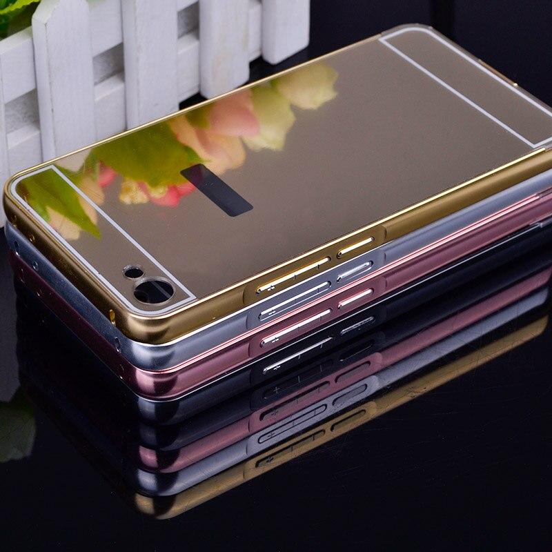 Pour la Couverture Meizu U 20 Cas U20 Placage Miroir Éclat Protecteur téléphone Cas Pour Meizu Meilan U20 U685h 16 GB 32 GB Couverture Arrière fu508