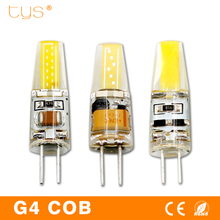 LED G4 Lamp COB 1505 AC 220V Lampada Led 12V Light Bulbs Chip DC12V High Bright Bombillas Ampoule LED Light Bulb For Chandelier