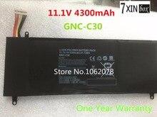 7 xinbox 11.1 В 47.73wh 4300 мАч замены батареи ноутбука gnc-c30 для gigabyte u2442 u24f p34g v2 ноутбук batteria