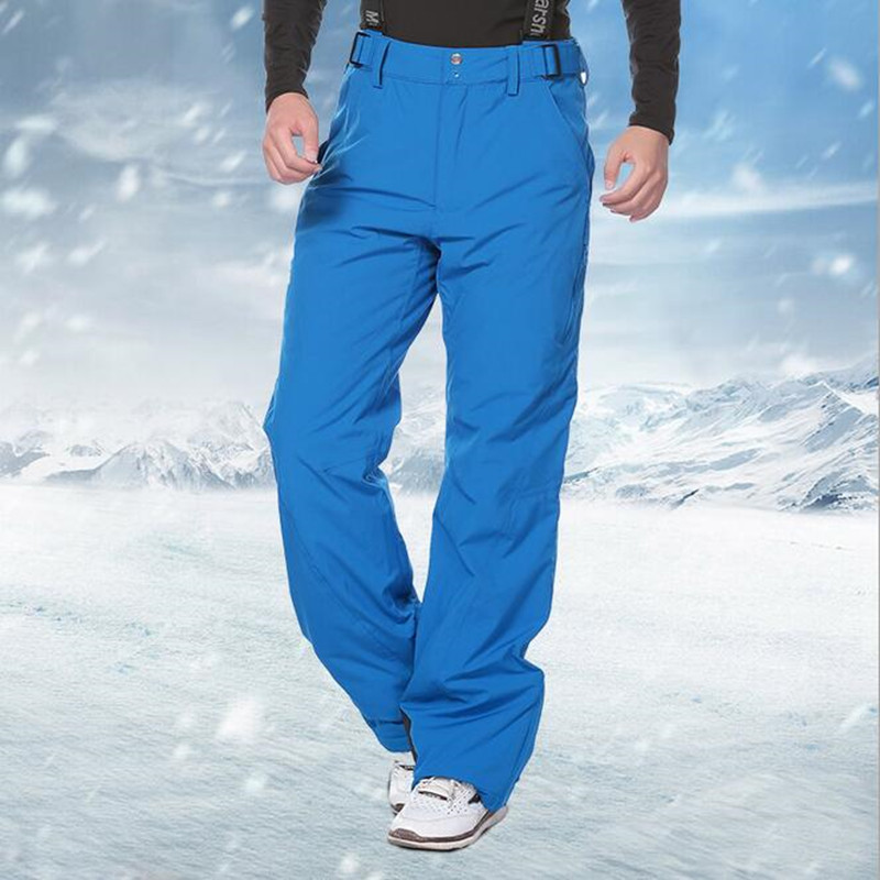 Men's Skiing Pants Winter Waterproof Snowboard Pants Warm With Space Cotton Trousers Outdoor Sports Snow Pant Boy Ski Clothing