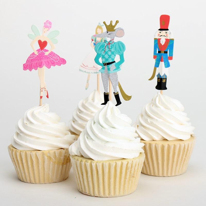 Cake Toppers Birthday Sticks
