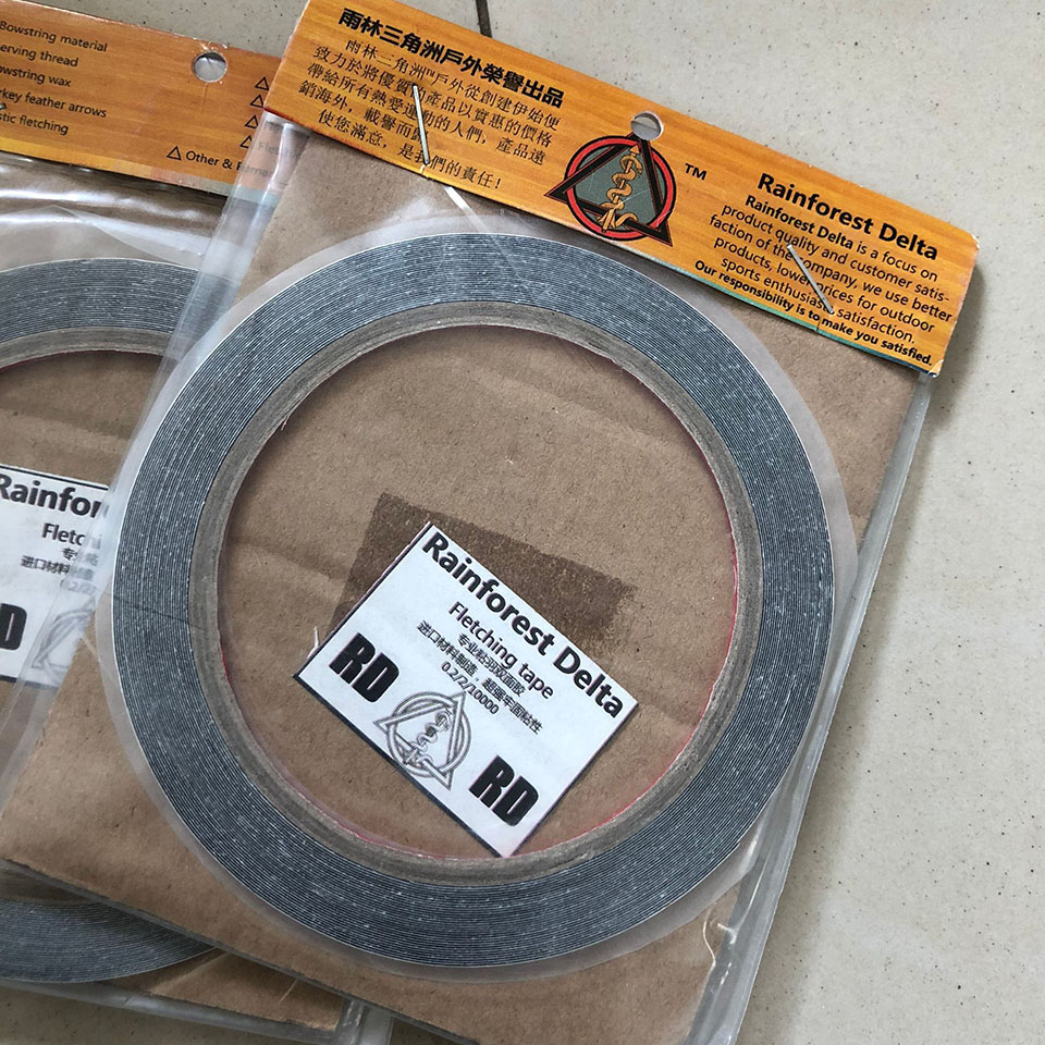 1Roll Archery Feather Fletching Tape To Quill For A Strong Reliable Bond Archery DIY Arrow Hunting Accessory