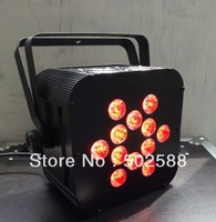 HO&Good quality RGBWA 5IN1 wireless dmx led flat par light, battery power wireless dmx led par light