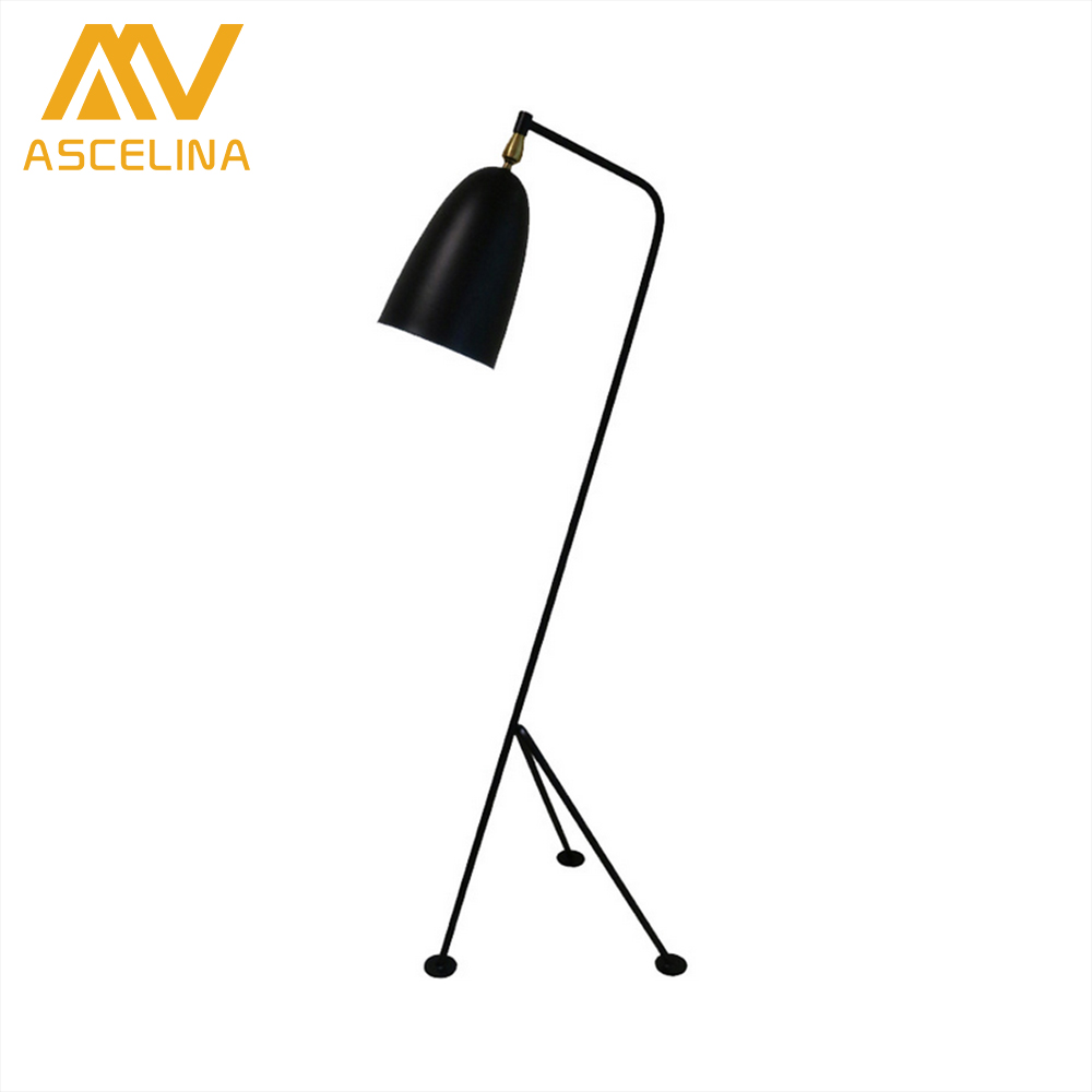 ASCELINA LED Floor lamp Nordic Creative floor lamps for living room Adjustable Standing Lamp Iron light fixtures e27 85-260v nordic floor lamp brokis balloons glass floor lamp bedroom bedside lamp for living room study standing lamp light fixtures