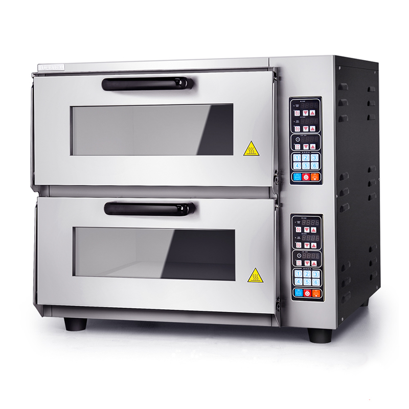 dulex double commercial intelligent electric pizza oven electric baking oven digital pizza oven - Commercial Pizza Oven