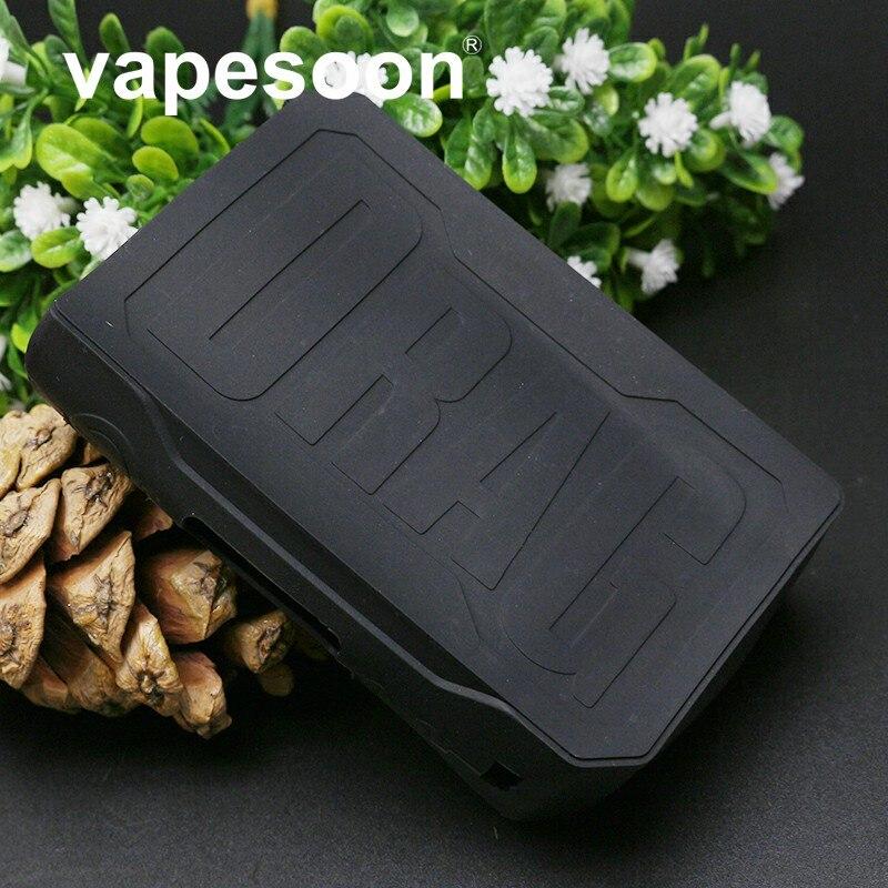Coque en silicone coloré manchon de protection couvre la peau pour Voopoo glisser TC 157w boîte Mod