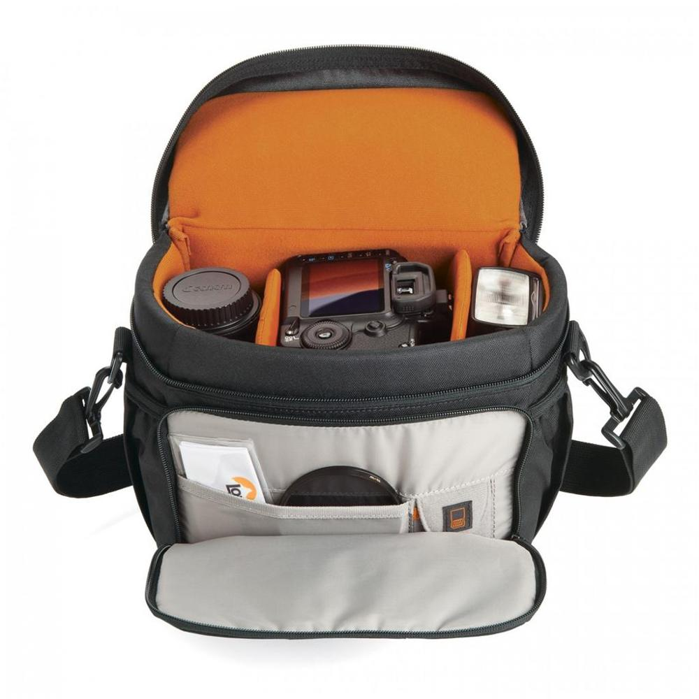 Image 2 - Hot Sale Genuine Lowepro Adventura 170 (Black) Single Shoulder Bag Camera Bag Camera Bag To Take Cover-in Camera/Video Bags from Consumer Electronics