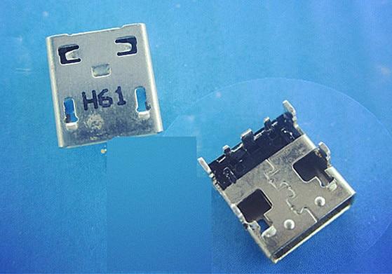 DC Jack Socket USB Charging Connector Port For Asus X205 X205T X205TA X205TAW E205SA yuxi free shipping 100x dc power jack connector for asus g53 g53s g53j g53sx g53sw g53jw g53jw 3de g53jw dc jack