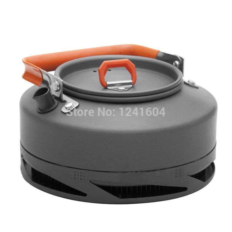 Огонь Клен 0.8l Открытый чайник Кемпинг Пикник Чай Кофе горшок теплообменник Кемпинг Пот лагерь Кухонная посуда 242 г fmc-xt1