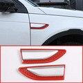 Для Land Rover Discovery Sport 2015-2018 Авто ABS Красный Топливный бак крышка Накладка Замена аксессуары