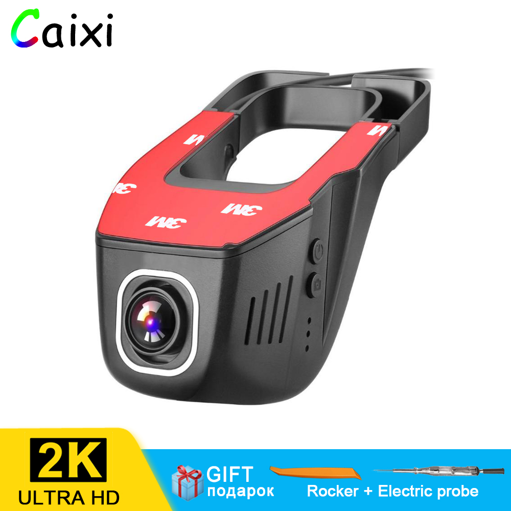 CaiXi WiFi Car DVR Camera Novatek 96658 Universal Dashcam 2160P 1080P Video Recorder Registrator Night Vision