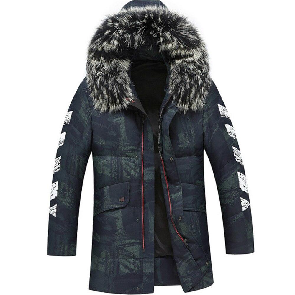 Sanft 2019 Hohe Qualität 80% Weiße Ente Dicke Daunen Jacke Männer Mantel Schnee Parkas Männlichen Warme Marke Kleidung Winter Unten Jacke Oberbekleidung