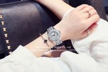 2017 New Fashion Women Watches, High Quality Austrian Diamond Women Rhinestone Watches, Rose Gold Woman Lady  Dress Watch Clocks