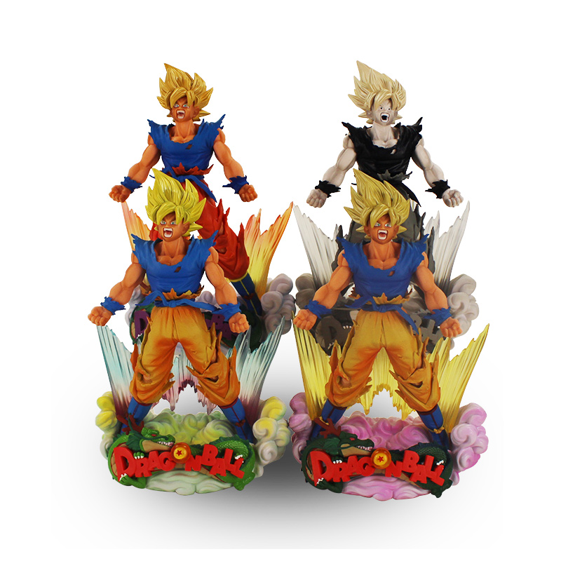 24cm Styles Dragon Ball SonGoku MSP Super Saiyan PVC Figure Dragon Ball Z Action Figurine how to train your dragon 2 dragon toothless night fury action figure pvc doll 4 styles 25 37cm free shipping retail