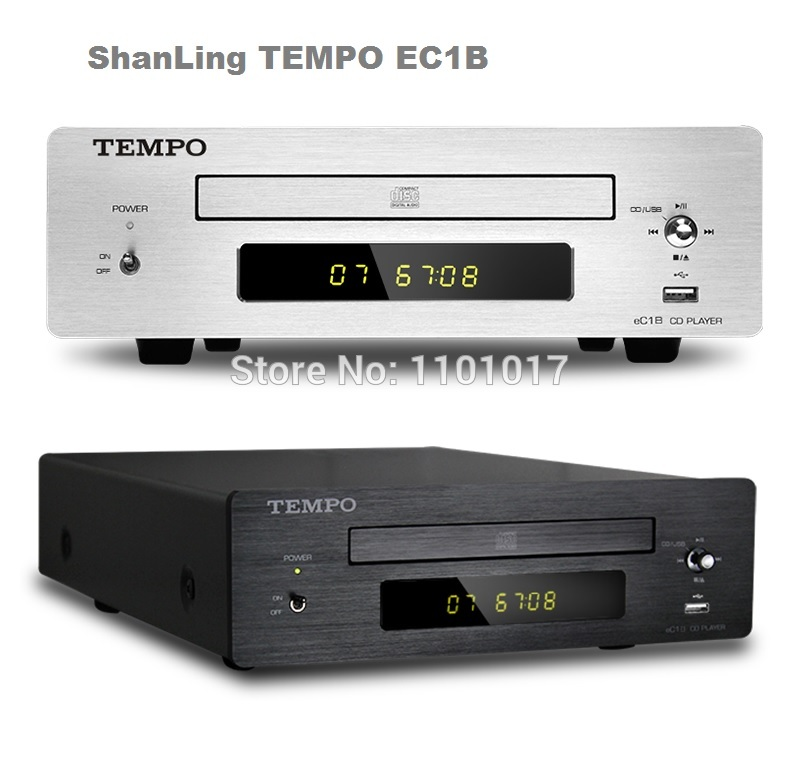 SHANLING TEMPO EC1B CD HDCD player HIFI EXQUIS read USB key Coaxial Optical