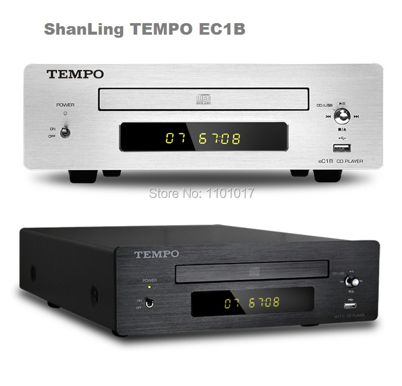 SHANLING TEMPO EC1B CD HDCD player HIFI EXQUIS read USB key Coaxial Optical