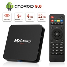 Leelbox MXQ Pro Max Rockchip 3228 Smart TV Box 4GB32GB Android 9.0 TV 4K Set Top Box WiFi box for Smart TV