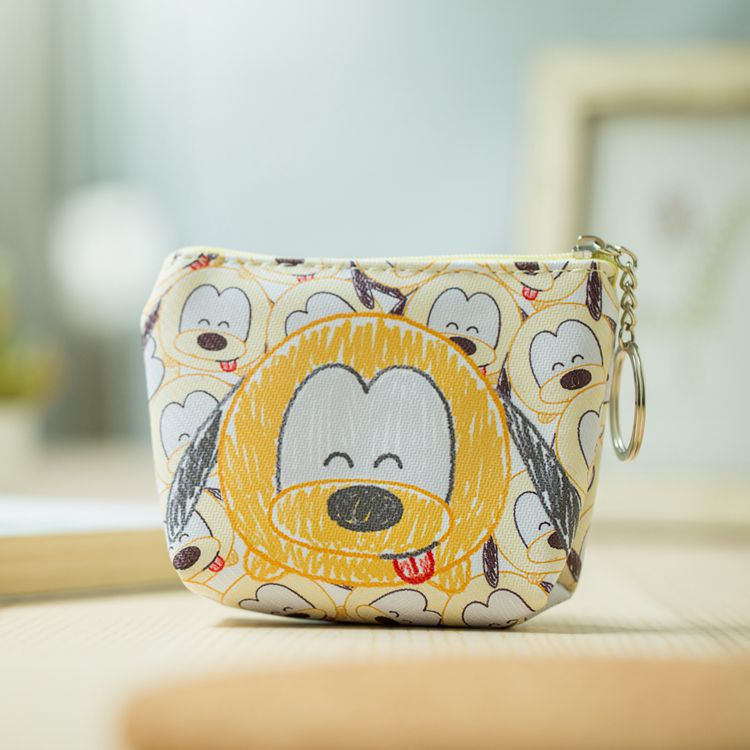 HTB1WWh2NhTpK1RjSZR0q6zEwXXas Disney children cartoon purse Coin Mickey Mouse coin bag girl boy gift handbag storage key pendant bag kid packet wallet Frozen
