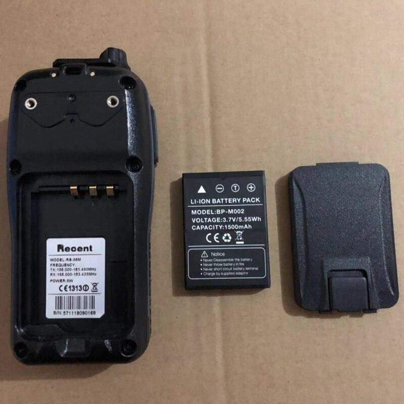 Recent RS-36M marine walkie talkie waterproof 80CH IP-X7 interphone Handheld emergency Transceiver transmitter