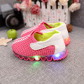 0-6 Led Kids Sneakers Baby Walkng Sport Shoes Breathable Boys Girls Light Shoes Chaussure Led Enfant Baby Shoes