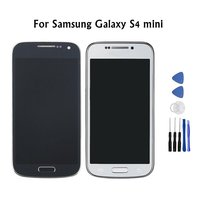 100 Tested Super AMOLED LCD For Samsung Galaxy S4 Mini I9190 I9192 I9195 Screen Touch Digitizer