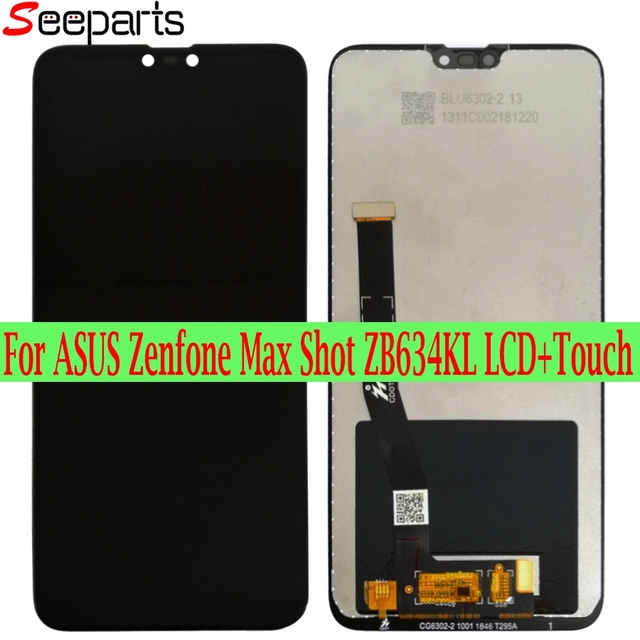 6.26 New Original for asus Zenfone Max Plus(M2)/ Shot ZB634KL LCD DIsplay +Touch Screen Digitizer Assembly For Asus ZB634KL