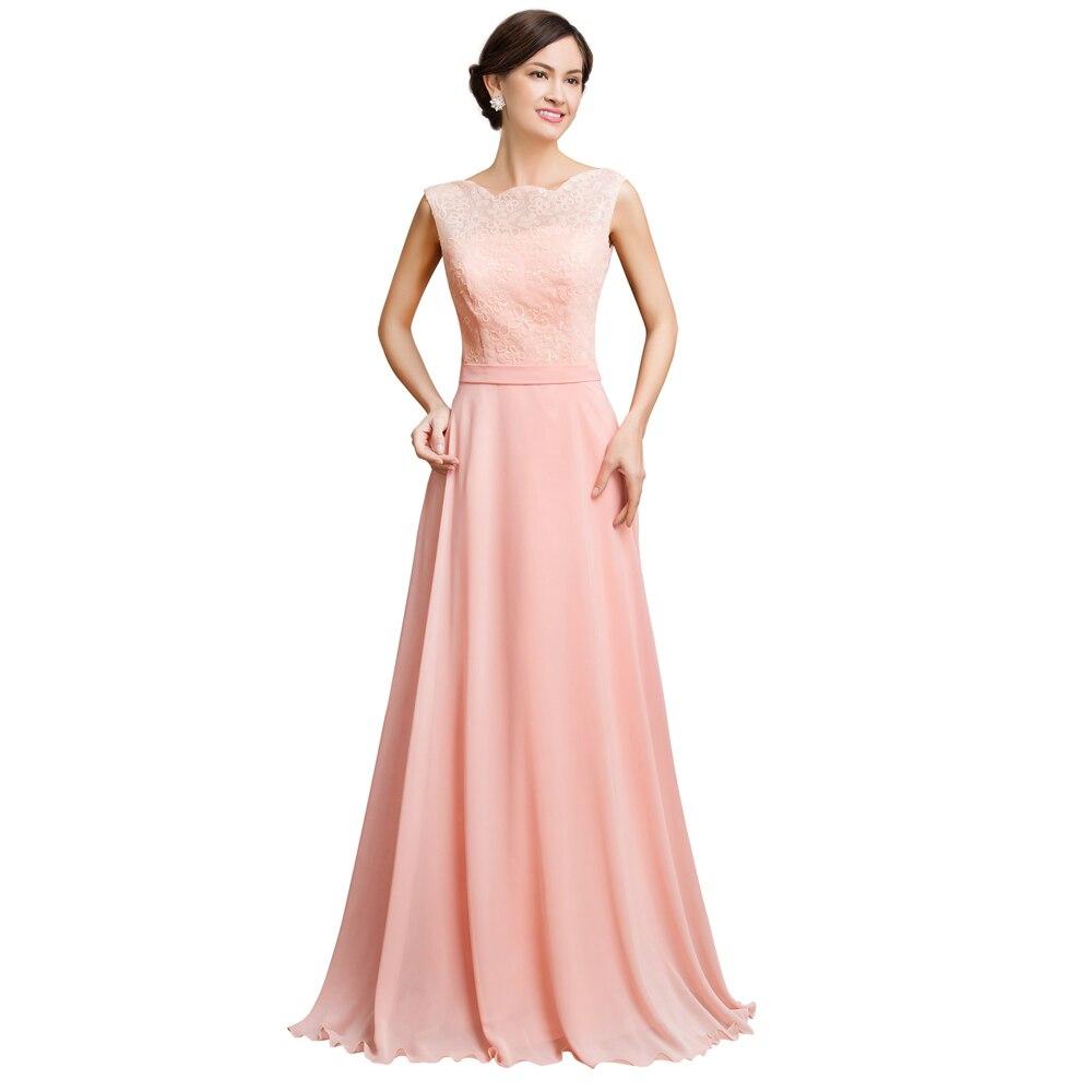 Vistoso Vestido Largo Prom Rosa Claro Ideas Ornamento Elaboración ...