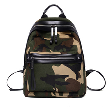 New Fashion Women's Backpacks Army Green Camouflage Backpacks Cool High School For Teenagers Backpacks Casual And Fashion Style