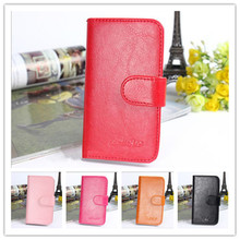 New Fashion Holster Noble Flip Leather Wallet Stand Back Cover Cell Phone Leather Case For Nokia Asha 206 Nokia 206