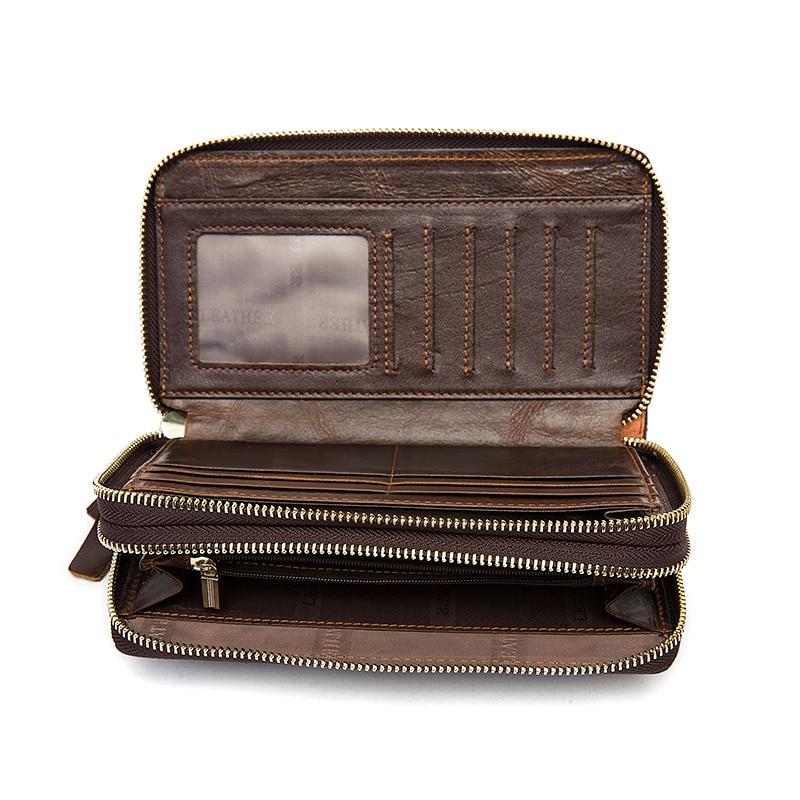 mva genuínos homens de couro Capacidade : Iphone 6 Wallet Case