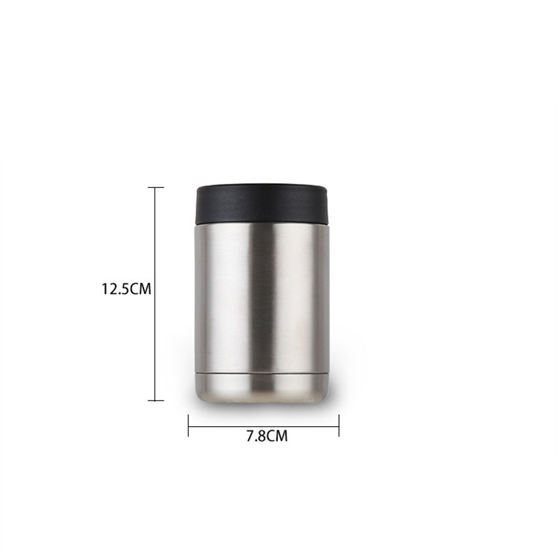 Hot sales 12oz Insulated cool coffee Cup Stainless Steel Thermos Water Bottle Vacuum Flask Travel TEA Mug cola beer keeper cold in Mugs from Home Garden