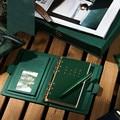 Винтажный блокнот из ПУ кожи со свободными листочками  А5  А6  повседневная заметка  планер  спиральный блокнот и дневники  Обложка  подарок н...