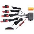 Sensor de Estacionamento Monitor de Auto Reverso Radar Detector de Backup System + Display LED + 13mm Original Sensores de 6 Cores