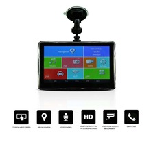 Best price ACEHE 7 Inch Full HD 1080P Car DVR Dash Camera Car GPS Navigation For Android Bluetooth WIFI 8G Support TF Card Data Recorder