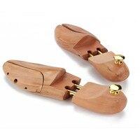 1 par sapato maca sapatos de madeira em forma de árvore rack de madeira ajustável apartamentos bombas botas expansor árvores multi tamanho ferramenta armazenamento em casa|Sapateiras e organizadores de sapato| |  -