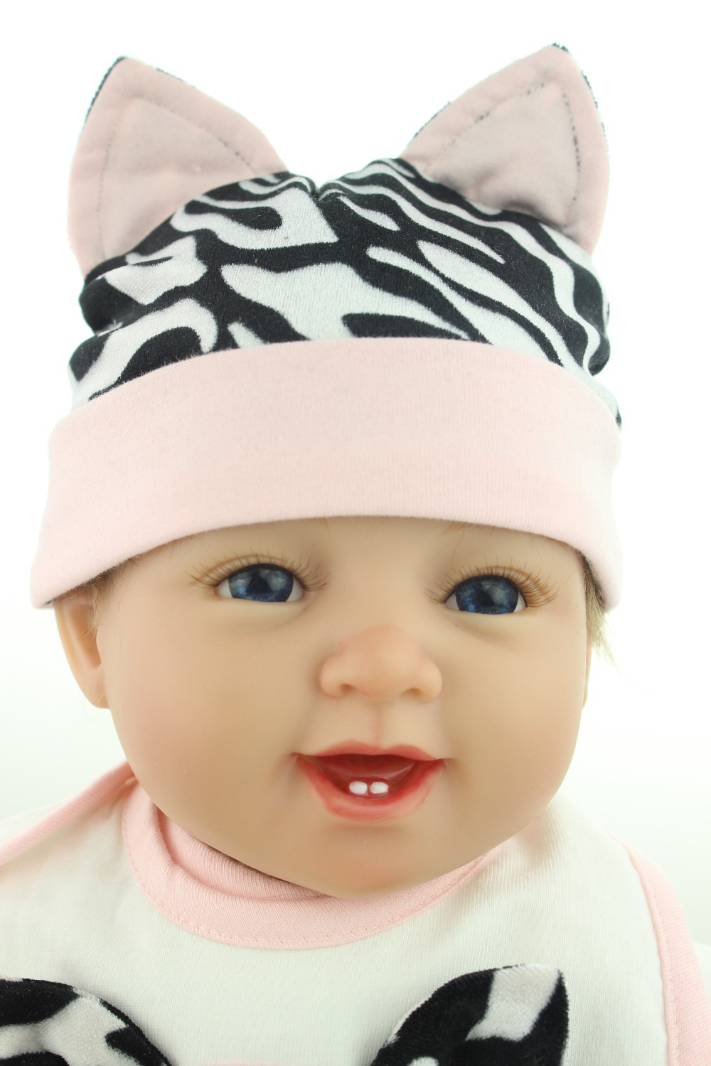 NPKCOLLECTION reborn doll with soft real gentle  touch 22inch reborn baby doll lifelike soft silicone vinyl real gentle touch new fashion design reborn toddler doll rooted hair soft silicone vinyl real gentle touch 28inches fashion gift for birthday